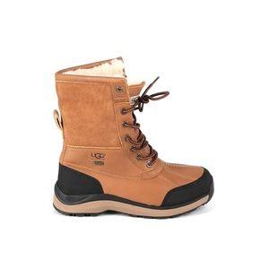 New Ugg Adirondack 3 Tan Winter Snow Rain Boots